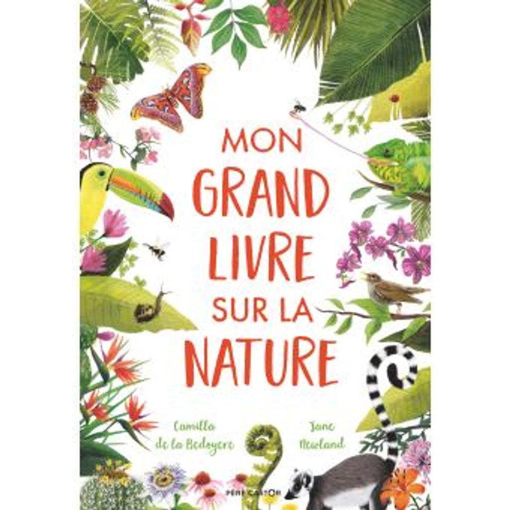 Mon grand livre sur la nature / [texte] Camilla de la Béyodère | De la Bédoyère, Camilla. Auteur