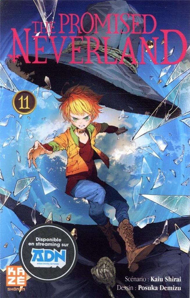 The Promised neverland. 11 / scénario, Kaiu Shirai  