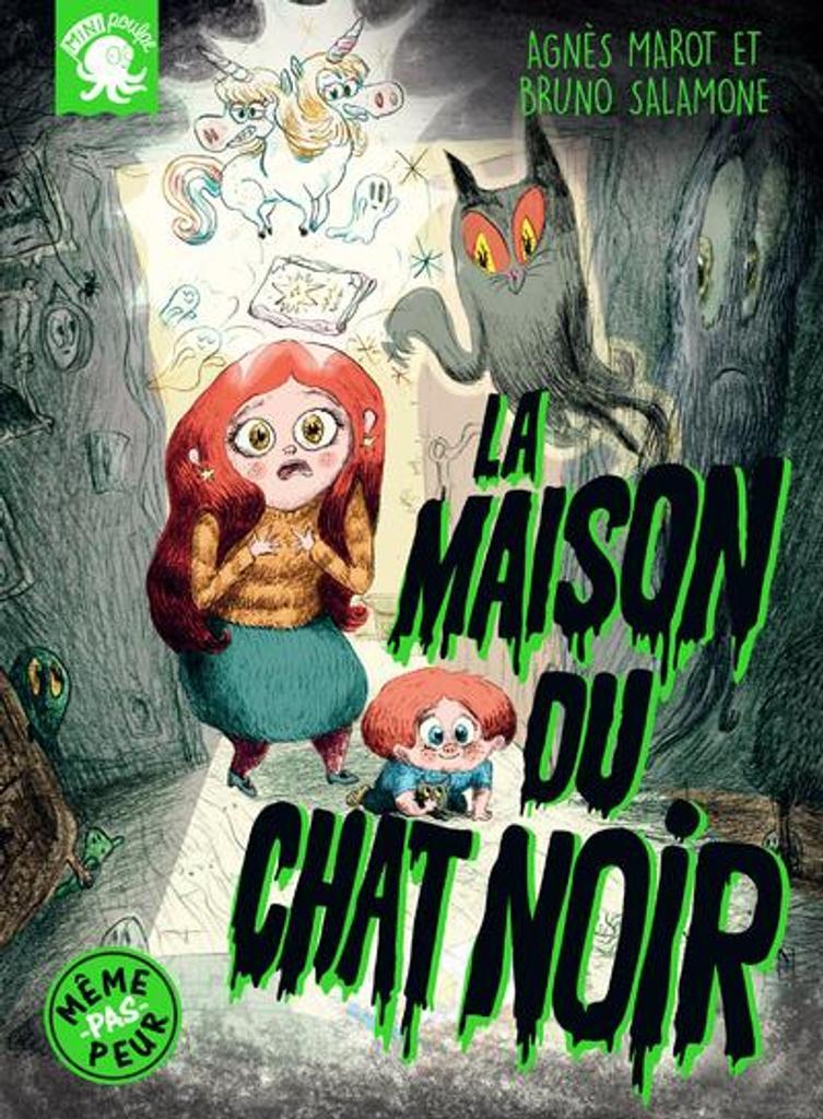 La maison du chat noir / texte, Agnès Marot | Marot, Agnès (1989-....). Auteur